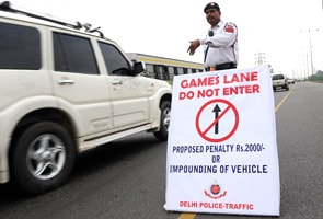 Traffic trials for Games give Delhi a Terrible Tuesday