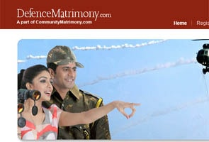 Matrimonial website for defence personnel