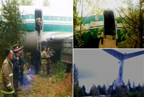 Plane crashes in woods in Siberia, no injuries reported