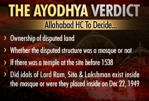 Ayodhya dispute: Key Issues