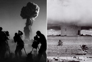 Bomb chroniclers: These men photographed atomic bomb blasts