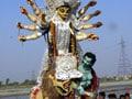 Kolkata: Behind Durga puja idols and decor, the Mamata hand!