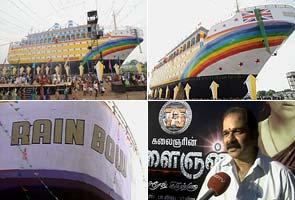 Rs 3 crore ship for new Karunanidhi film