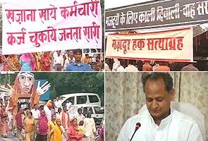 'Black Diwali' for NREGA workers in Rajasthan