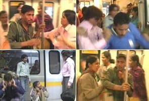 Men beaten for entering ladies coach on Metro