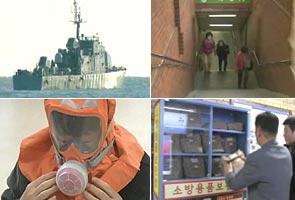 South Korea prepares emergency shelters