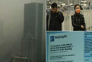 Beijing pollution 'crazy bad', says US