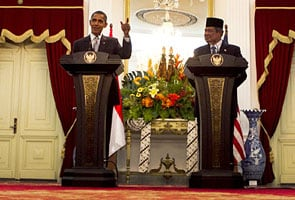 China ups ante for Indonesia on eve of Obama's arrival