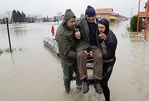 Rain fury in Bosnia, Serbia; flood worst in a century