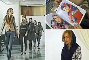 Iranian models take the hijab to the catwalk