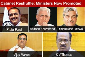 Cabinet reshuffle: Ministers now promoted
