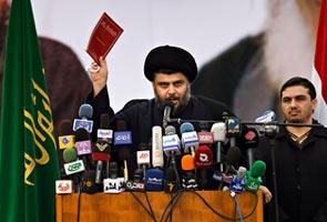 Iraqi cleric embraces state in comeback speech