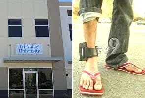 US justifies ankle monitors for 'Sham University' students