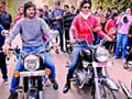 Actress Gul Panag faces flak for not wearing helmet