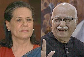 Advani expresses regret to Sonia for black money allegations