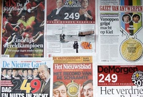 Belgium breaks record for longest time without a government
