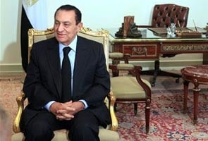 Mubarak banned from leaving Egypt, assets frozen