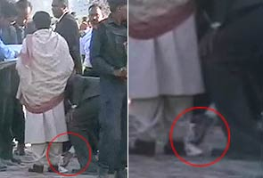 So what if security officer cleaned Mayawati's shoes, asks BSP