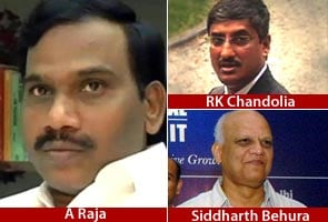 2G spectrum scam: Raja, aides to be produced in court today