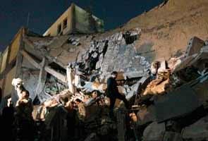 Libya air strikes: Gaddafi's personal compound in Tripoli hit