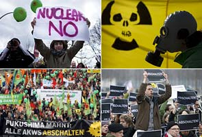Over 200,000 in Germany protest nuclear power
