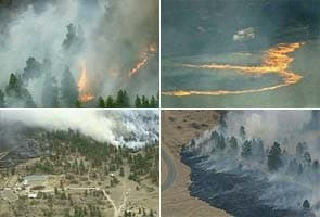 Wildfire engulfs 1,600 acres in Denver