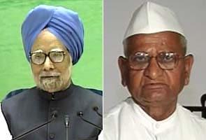 Anna Hazare's 5-point letter to PM