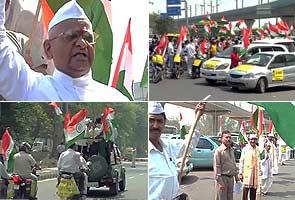 Anna Hazare's fast unto death for Jan Lokpal Bill begins today
