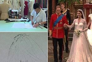 Rush on for affordable copies of royal wedding dress