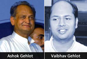Big rewards for companies that hired Ashok Gehlot's son