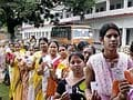 74 per cent polling in first phase of West Bengal polls