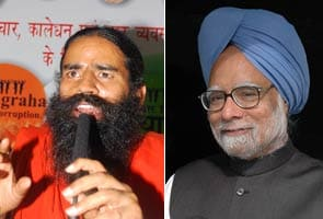 PM Manmohan Singh appeals to Baba Ramdev to call off his fast