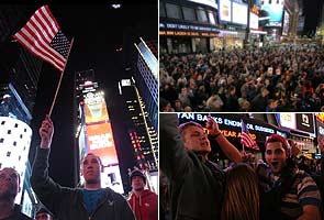 Osama bin Laden dead: Near World Trade Centre site, raised fists and cheers
