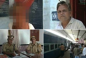Railway ticket checker rapes woman
