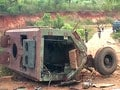 Chhattisgarh: Maoists blow up anti-landmine vehicle, 10 policemen killed