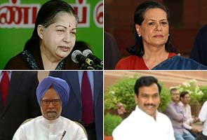 2G scam: Jayalalithaa seeks explanation from PM, Sonia Gandhi on Raja's charges