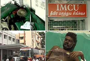 Chennai: Fire in the ICU leaves two dead