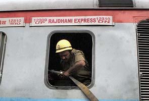 Fire on New Delhi-Patna Rajdhani Express