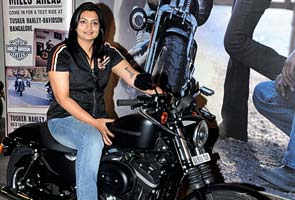 Meet The First Woman To Buy A Harley Davidson In India