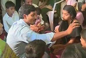 Jagan Mohan resumes odarpu yatra