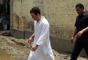 Rahul Gandhi visits Bhatta Parsaul again