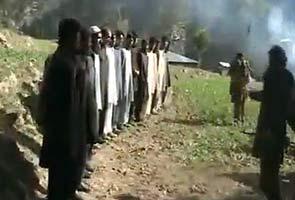 Taliban execute Pakistani policemen on video