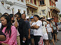 As Thailand votes, parties deeply divided