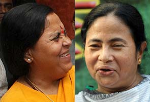 In Kolkata, Uma prays Mamata will 'destroy' Congress