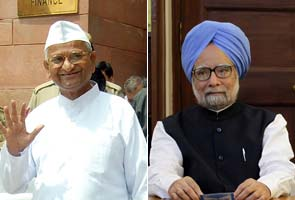 Lokpal Bill: PM snubs Anna, says 'approach statutory authorities'