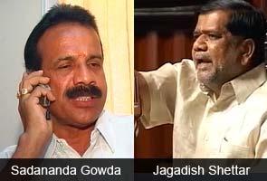 Sadananda Gowda named new Chief Minister of Karnataka