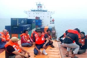 30 people rescued from sinking ship near Mumbai