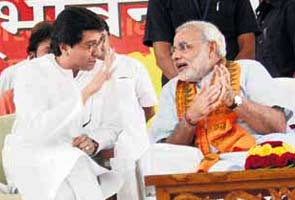 Raj Thackeray pitches Modi for PM, uncle furious