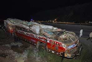 38 die in Pakistan school bus accident