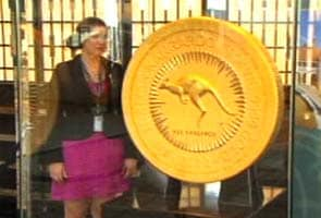 World's largest gold coin unveiled in Australia